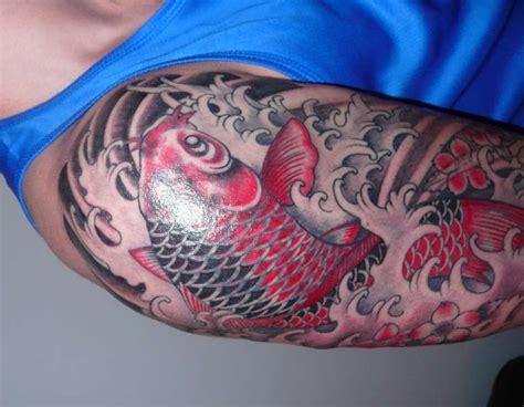 tattoo koi cover japanese koi cover up tattoo