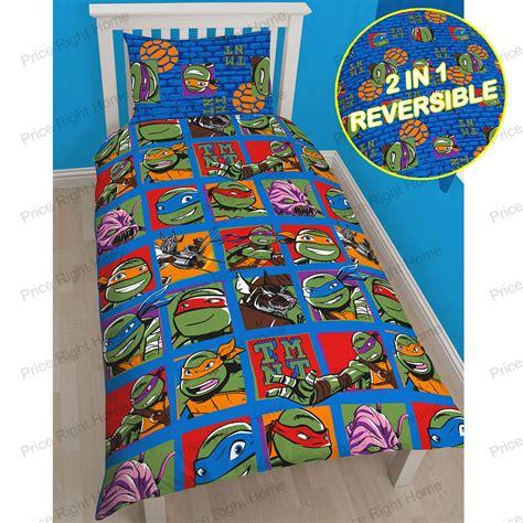 tmnt bedding set mutant turtles bedding single duvet cover