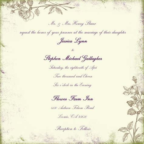 dili s blog sle of wedding invitation