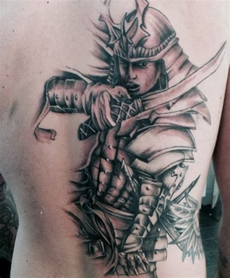 50 samurai tattoo designs for men noble japanese warriors