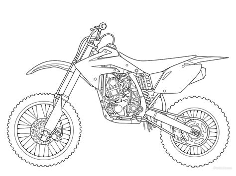 coloring book cr dirt bike coloring pages chuckbutt