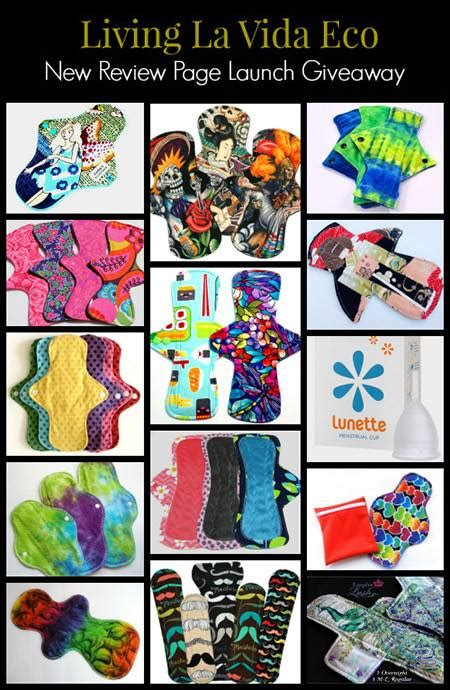 Cloth Pad Giveaway - current giveaways tuesday s time to win linky our piece of earth