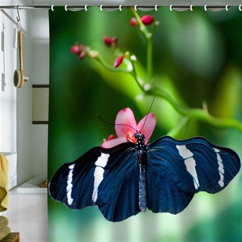 black butterfly curtains bird wanna whistle black butterfly shower curtain