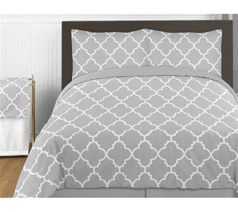 gray and white bedding trellis gray and white bedding collection