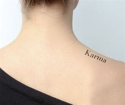 tattoo fonts karma karma quotes beautiful and fonts on