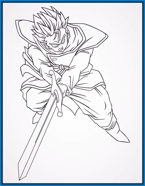 imagenes blanco y negro dragon ball z dibujos de dragon ball z a color para imprimir archivos