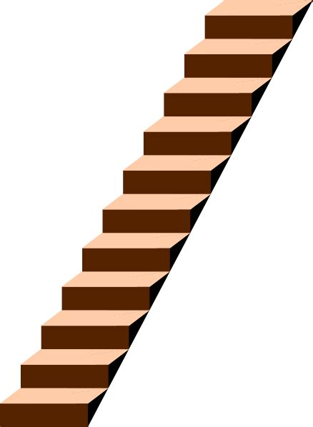 stair case stairs clip art at clker com vector clip art online