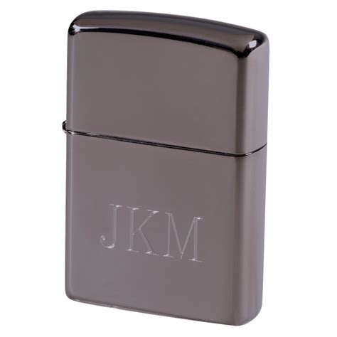 engraved gunmetal zippo lighter for groomsmen groomsmen