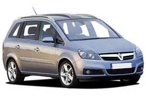 Vauxhall Zafira Silver Vauxhall Zafira Opel Zafira Review And Photos