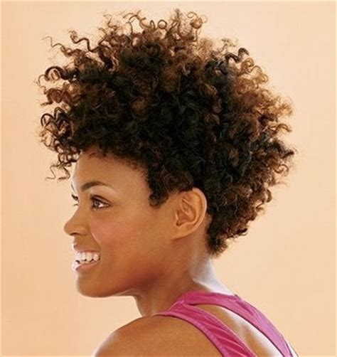 beautiful black woman natural hair pride short hair