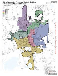 new valdosta council districts proposed on the lake front