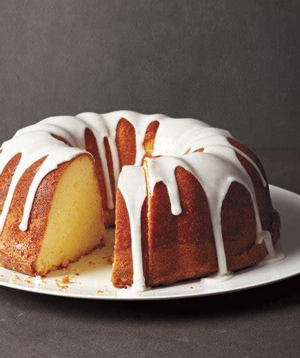 glazed lemon pound cake easy cake recipes real simple