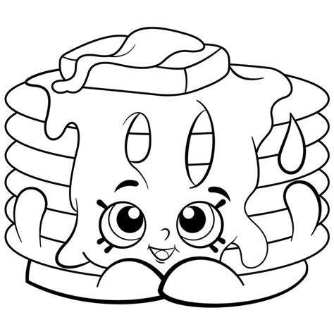 shopkins coloring pages easy best 25 shopkins coloring pages free printable ideas on