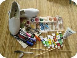 Cat Sepatu Kanvas Surabaya sepatu lukis sepatu lukis surabaya mojokerto jual