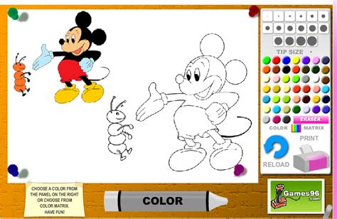 mickey mouse coloring pages games 97 coloring pages online mickey mouse click the