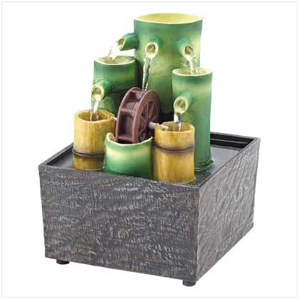 mini zen table fountain garden fountains