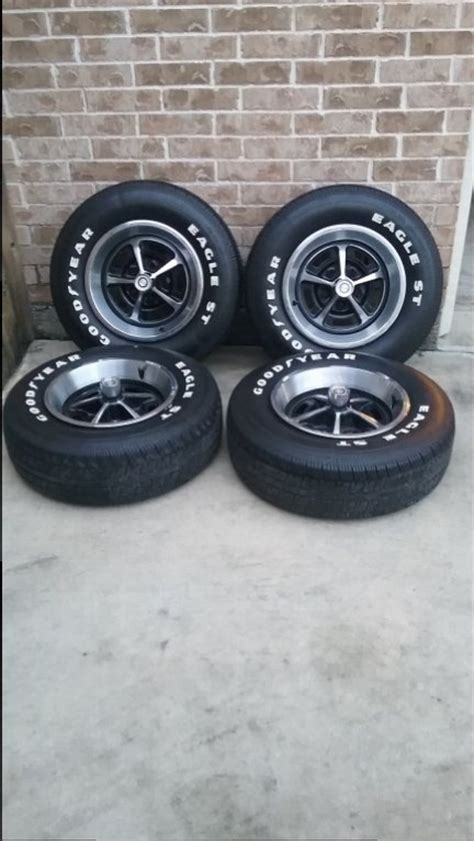 eagle rubber st for sale 14 quot magnum wheels with goodyear eagle st tires