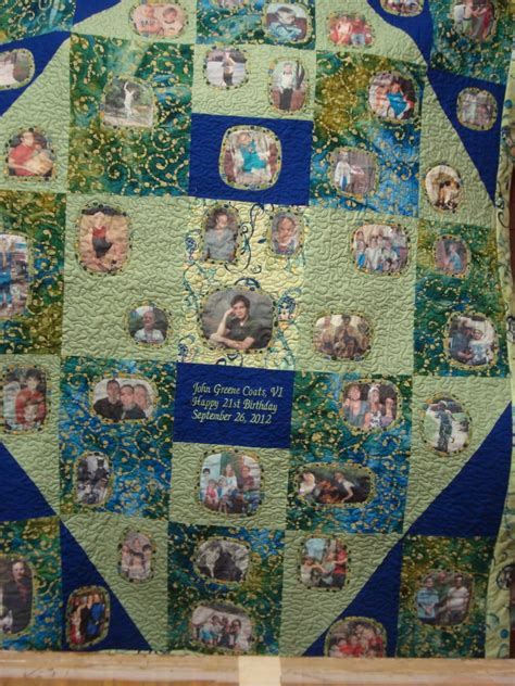 Memory Quilts Patterns by No Pattern Used Memory Quilt