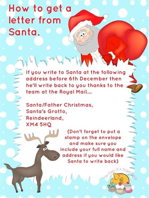 Response Letter From Santa free printables letter to santa templates and how to get