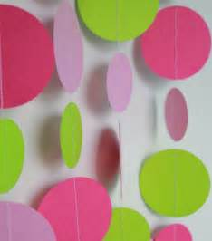 paper decorations birthday decorations paper garland decoration