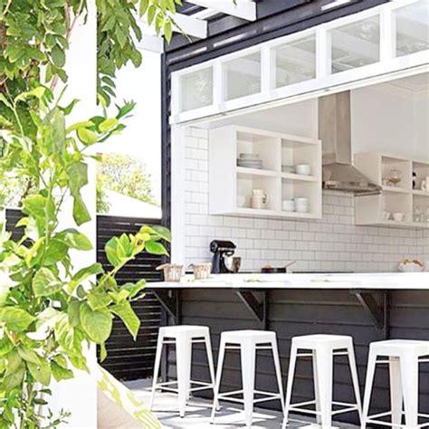 indoor outdoor kitchen designs best 25 indoor outdoor kitchen ideas on