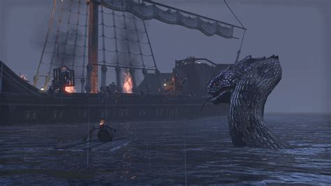 Sea Serpent | Elder Scrolls | FANDOM powered by Wikia Giant Sea Monster Skyrim