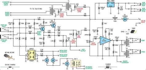 aviation intercom circuit diagram diy electronics