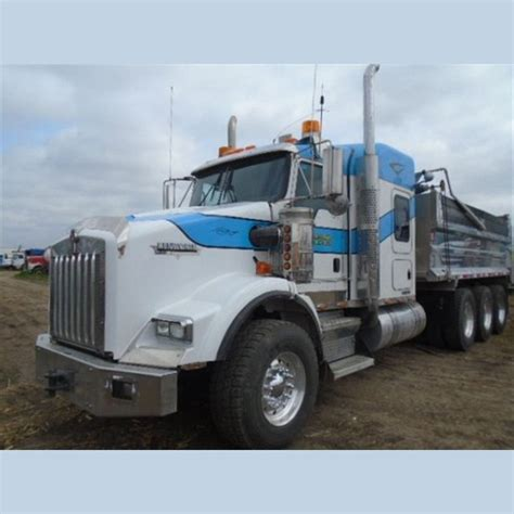 Dump Truck With Sleeper by Kenworth Dump Truck Supplier Worldwide Used 2007 T800