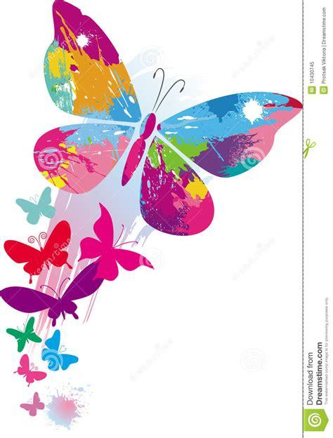 imagenes mariposas libres mariposas y l 237 nea cepillos foto de archivo libre de