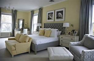 Bedroom Paints Designs Cheerful Sophistication 25 Gray And Yellow Bedrooms