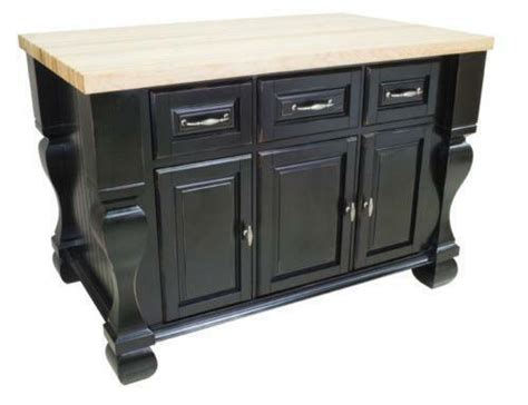 ebay kitchen islands black kitchen island ebay