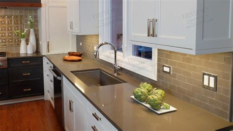 Cost Of Kitchen Countertops Shasta Brown Quartz Countertop Kitchen Countertops Quartz