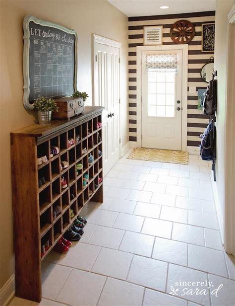 slim entryway storage narrow entryway storage vintage mail sorter turned shoe
