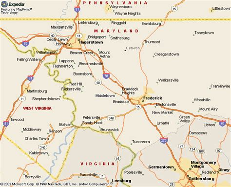 maryland map frederick biography and children of johann ludwig wissinger