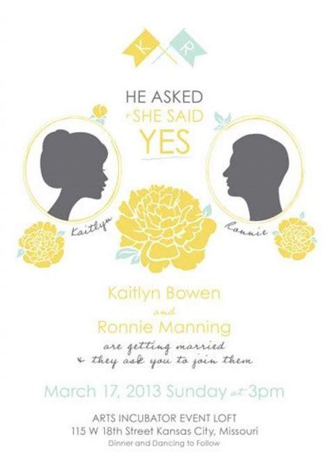 what wedding invitations should say garden wedding say yes wedding invitations 2064312