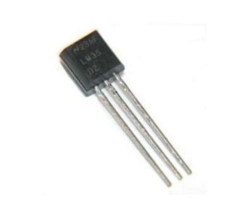 transistor lm35 david pello fabacademy