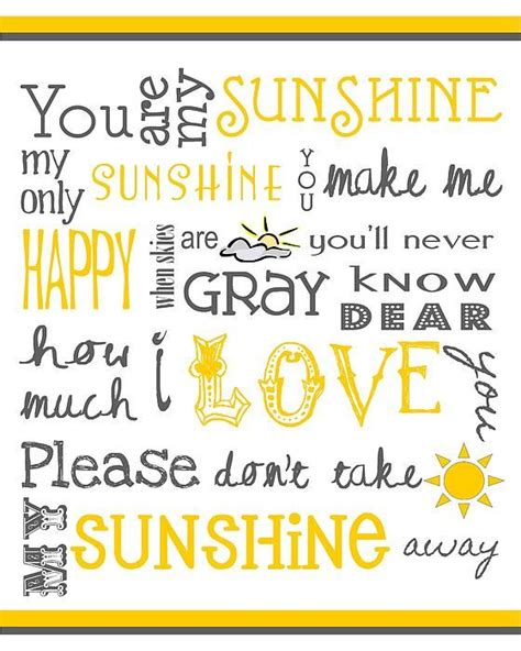 summer c song you are my sunshine with lyrics and classic songs you are my and my sunshine on pinterest