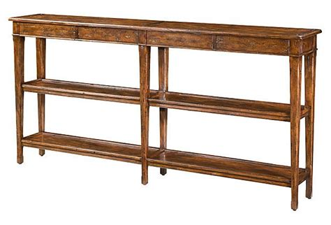 72 quot console table brown
