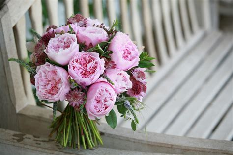 david austin mixed pink bridal bouquet 15 gorgeous bouquets with pink roses