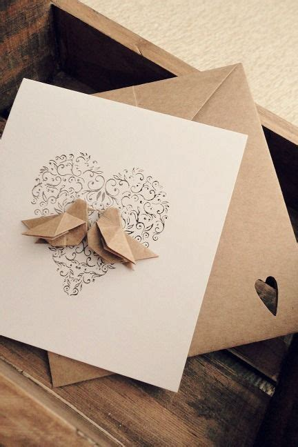 Origami Wedding Cards - the 25 best origami cards ideas on origami