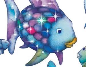 Wall Art Stickers Quotes wandtattoo der regenbogenfisch unterwasserparadies
