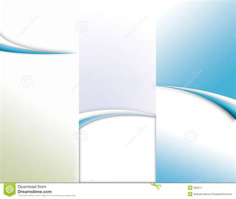 free tri fold template tri fold brochure template royalty free stock photography