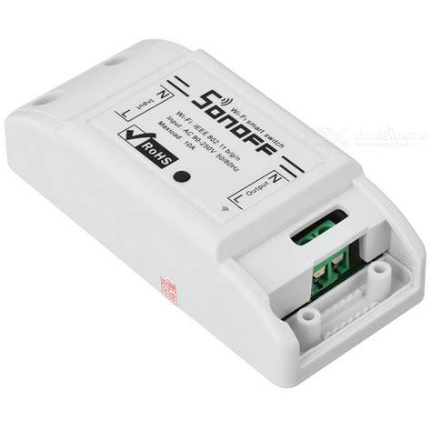 Switch Wifi sonoff smart wifi switch diy remote wireless smart switch domotica wifi light switch white