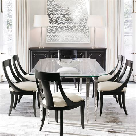 Dining Table Centrepiece 1000 Ideas About Glass Dining Room Table On Dining Room Design Black Dining Rooms
