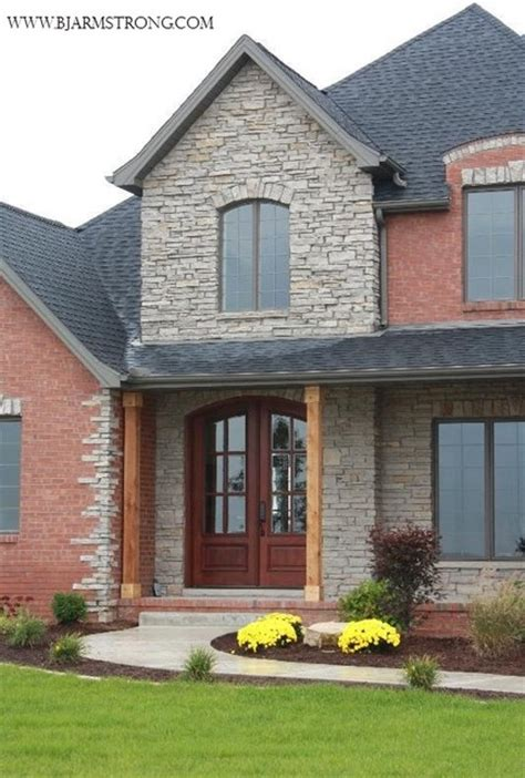 home exterior design brick and stone brick and stone house traditional exterior chicago