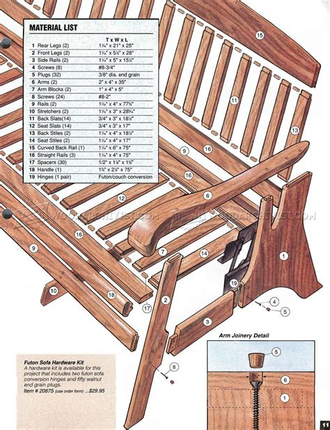 sofa bed plans woodworking plans baby 6000 personal
