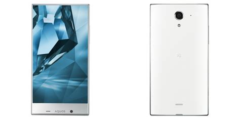 Cristal X New sharp announces new bezel less phone the x tech