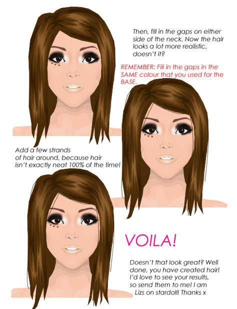 tutorial hair design stardoll stardoll graphic tutorials august 2010