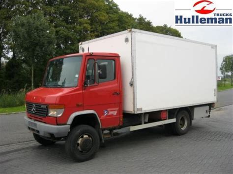 mercedes box truck for sale mercedes 814 4x4 steel suspension manuel box truck