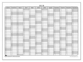 Calendario 2018 Para Imprimir Calend 225 Para Imprimir 2018 Hostus Portugal